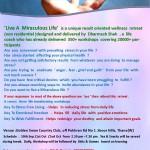 live a miraculous life  -yeoor  Dassera