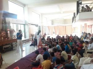 Workshop for kids @ Ghatkopar 2017